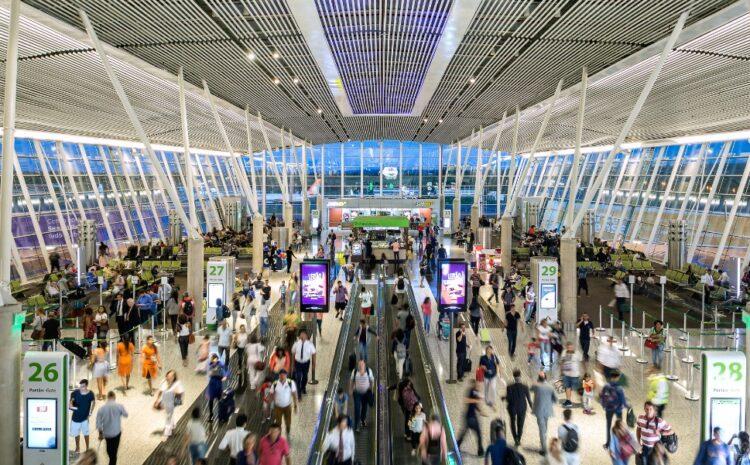 Aeroporto de Brasilia câmera termográfica