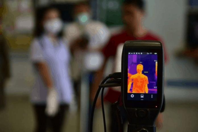 Betxí monitorar a temperatura das pessoas