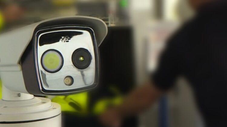 câmeras térmicas detectar portadores de covid