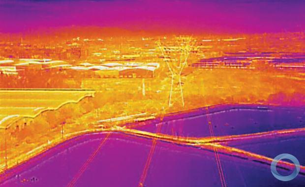 cameras termograficas e drones