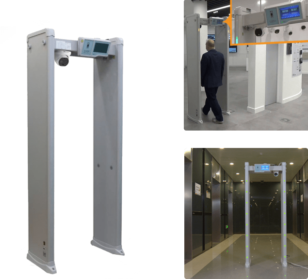 portal detector de metais
