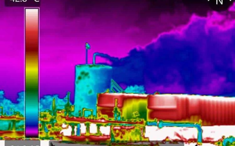 tecnologia de cameras termograficas