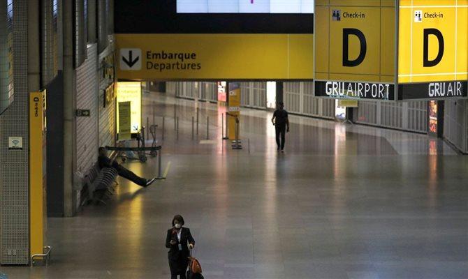 Aeroporto de Guarulhos câmeras térmicas
