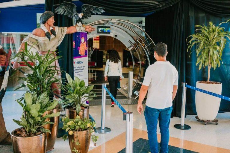 Shopping investe em piloto de camera de descontaminação de ambiernte