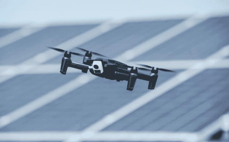câmera térmica ao novo drone