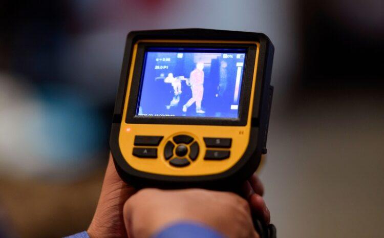 camera de imagem térmica