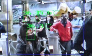 Medição de temperatura dos passageiros começa a ser testada pelo Metrô