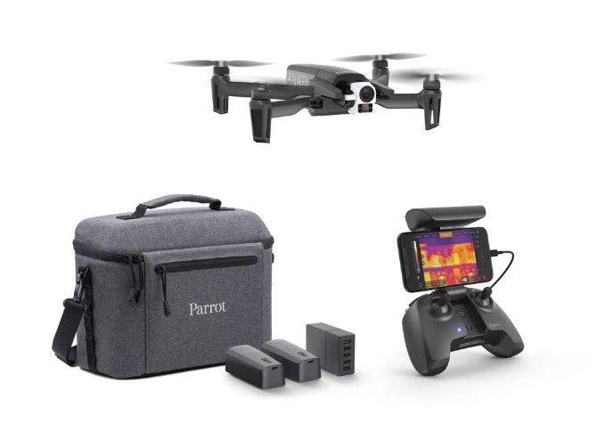 novo drone com câmera termográfica