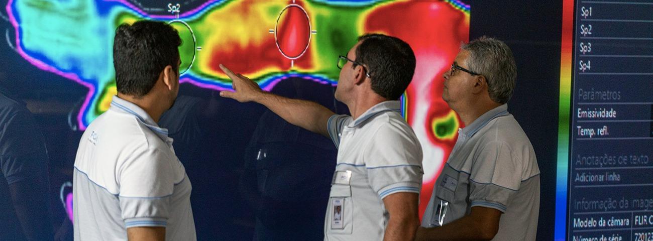 termografia lesões